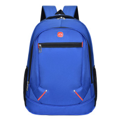 Oxford cloth backpack custom fashion leisure student schoolbag male large capacity outdoor travel backpack student 15.6