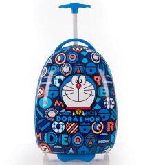 Children's trolley case cartoon big eye person hard shell suitcase cute primary school children's 16 inch eggshell pull rod schoolbag