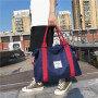 Waterproof travel bag portable large capacity short distance luggage bag exercise fitness bag Oxford luggage bag Yoga Bag female