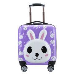 New cartoon board case children's Trolley Case cute big eye 18 inch suitcase