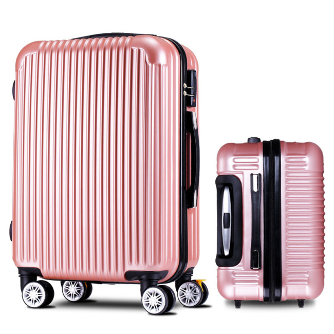 ABS Trolley Case custom universal wheel luggage travel bag aviation zipper bag waterproof bag
