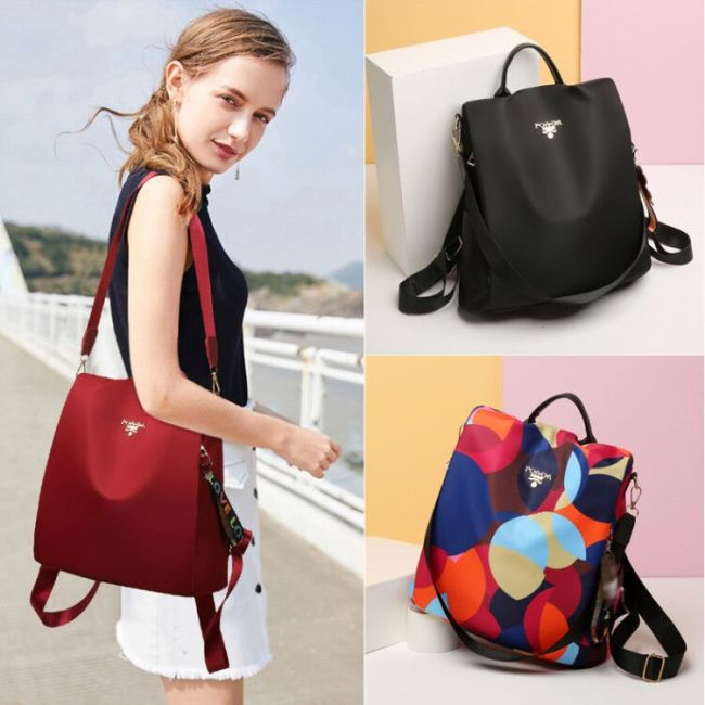 Women's bag 2020 waterproof Oxford backpack women's new leisure backpack student outdoor travel schoolbag