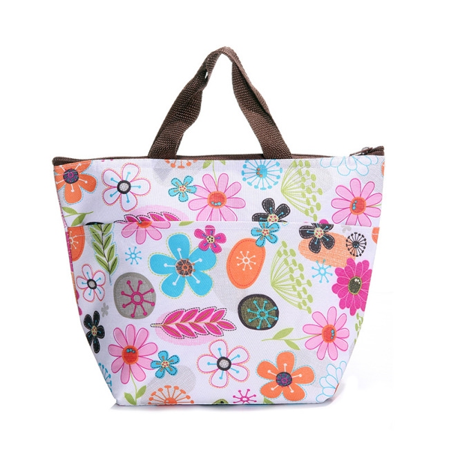Multifunctional portable thickened heat preservation bag ice bag cold insulation bag lunch bag Oxford cloth Lunch Bag