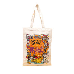 Manufacturer canvas bag customized digital printing animation portable cotton bag shoulder bag shopping bag customized logo