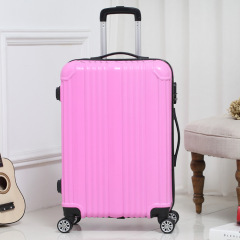 Mirror universal wheel Trolley Case traveling bag boarding luggage case male and female hard case fashion student 20 inch 2224 inch