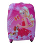 Gift customized 18 inch children square Trolley Case cute cartoon waterproof trunk universal wheel student travel case