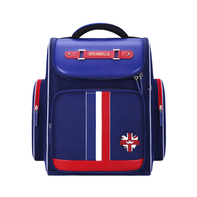 New schoolbag for boys, grade 1-3-6, grade 6, Korean version, boys' double shoulder children's backpack