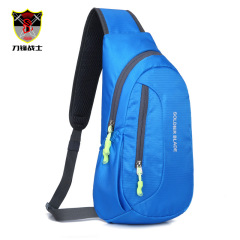 Multi functional waterproof men's chest bag outdoor riding Single Shoulder Messenger Bag customized outdoor sports leisure bag wholesale