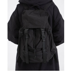 20 South Korea's new dark Drawstring Backpack men's and women's luggage bags nylon multi bag large capacity Backpack