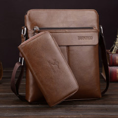 Single shoulder bag men's business messenger bag men's fashion high-end single shoulder bag