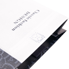 Custom coated non-woven bag hand bag hot pressing three-dimensional bag customized environmental protection bag advertising bag logo
