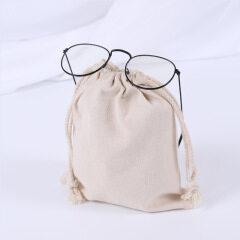 Spot canvas bag customized creative gift bag advertisement drawstring bundle pocket spot cotton bag custom logo