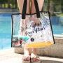 Swimming bag transparent PVC waterproof bag storage bag beach bag hand bath portable shoulder bag travel bag customized