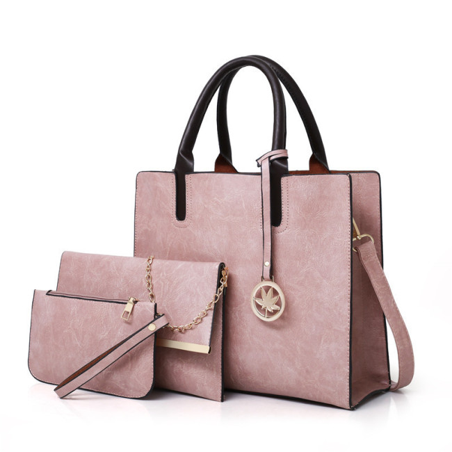 Women's bag multi piece cover mother bag simple portable Single Shoulder Messenger women's bag
