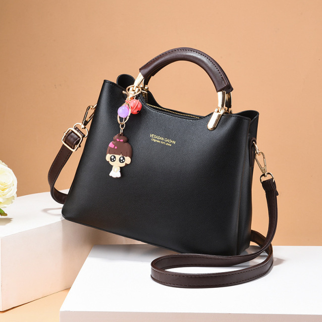 Hot selling new women's solid color handbag confident comfortable fashion urban elegant generous women's bag 328