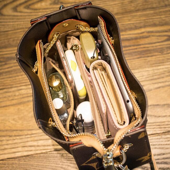 Factory direct sale 2020 summer new women's bag versatile fashion chain bag Single Shoulder Messenger Bucket Bag Handbag