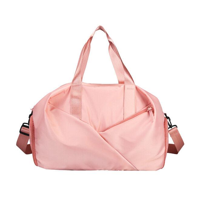 Luggage bag men's short distance hand-held travel bag women's multi-functional independent shoe position waterproof sports fitness bag