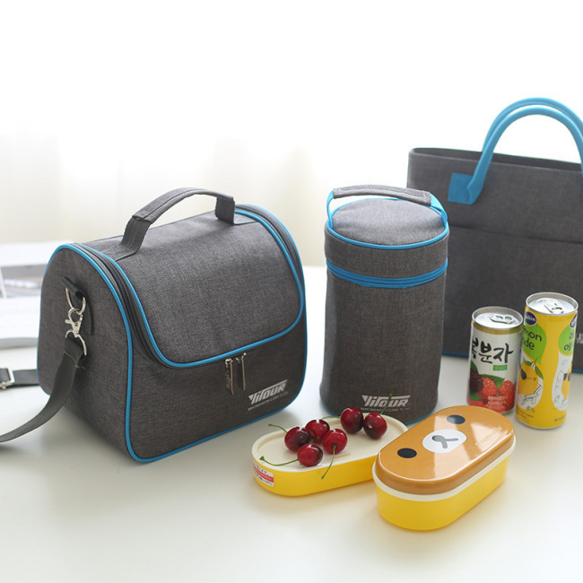 Factory direct cold insulation bag ice bag portable insulation bag Oxford cloth refrigerated Lunch Bag Picnic bag spot