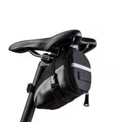 Bicycle tail bag seat bag mountain bike cushion bag back bag glue free tire repair combination tool set
