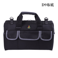 Portable kit multi-functional maintenance canvas large tool bag wear-resistant installation