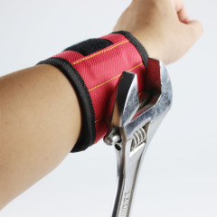 Powerful magnetic wrist strap tool storage arm strap magnetic wrist strap 3 magnets s2-3
