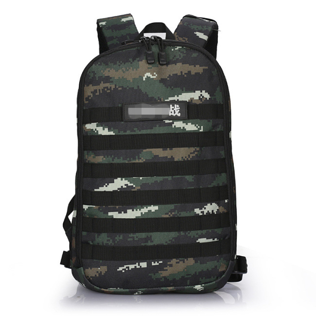 Camouflage outdoor mountaineering training tactics backpack tiger spot special camouflage digital backpack for students
