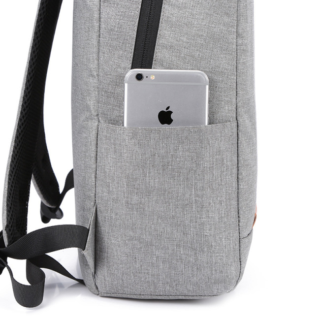 Backpack gift customized logo leisure backpack USB schoolbag for boys and girls