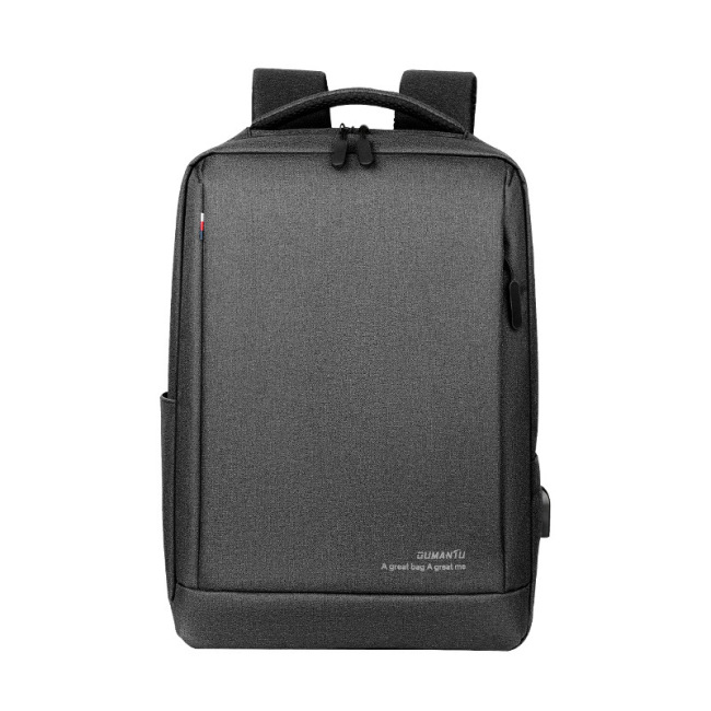 Business computer bag logo custom backpack large capacity 15.6-inch backpack