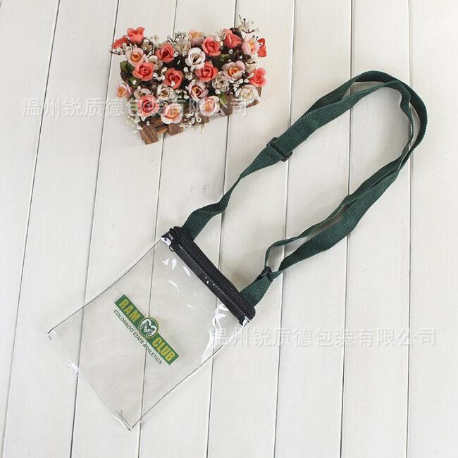 PVC packaging bag manufacturers custom environmental protection PVC storage bag transparent plastic zipper PVC bag custom logo