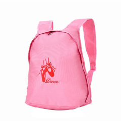 New dance bag custom logo children's Dance Bag student schoolbag large capacity backpack dance supplies