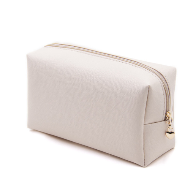 Korean cosmetic bag foreign trade leather lady Pu square portable waterproof Travel Wash storage bag customization