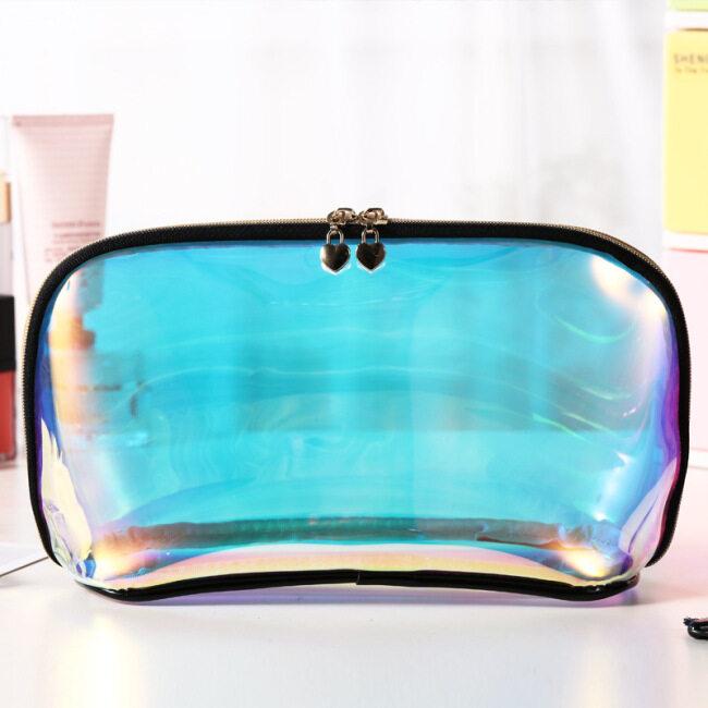 TPU transparent laser waterproof storage bag