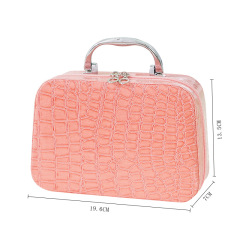 2021 Korean Pu cosmetic bag women's handbag fashion cosmetic case Korean cosmetic case women's storage bag