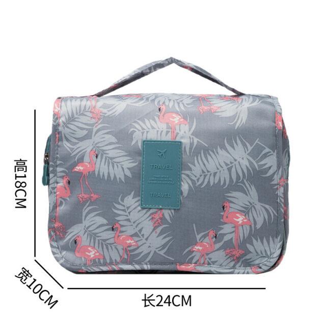 Factory direct sales hook wash bag travel portable storage bag Hanging Cosmetic Bag bathroom storage bag wholesale