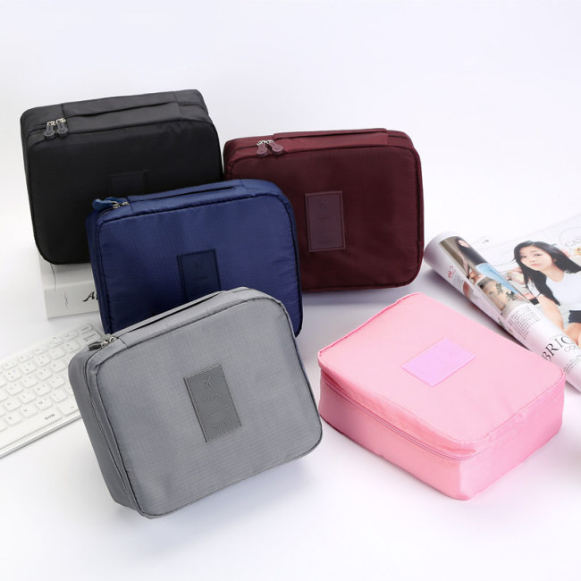 Korean travel large capacity second generation wash and gargle bag cosmetic bag portable storage bag multifunctional travel storage bag