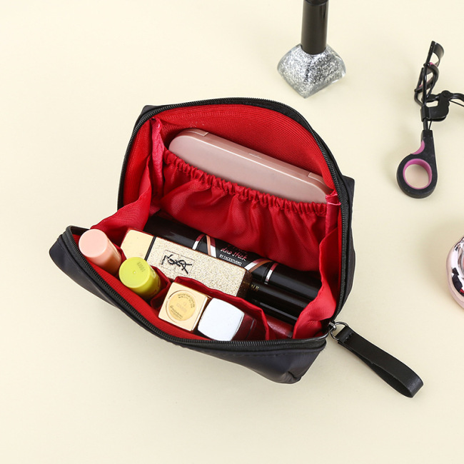 Diniwell nylon hand in hand to take the mouth red envelope zero wallet stereo Small Cosmetic Bag Travel Makeup storage bag