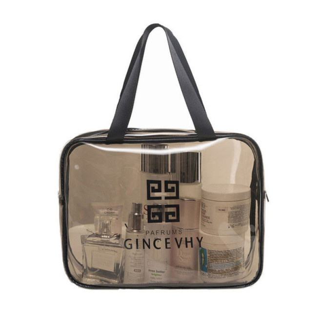 Transparent cosmetic bag PVC toiletries bag travel storage bag waterproof toiletries bag toiletries storage bag toiletries bag