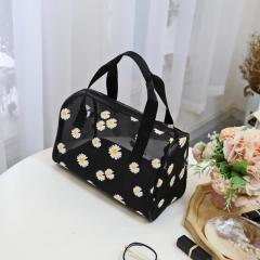 2020 new Daisy wash bag water proof breathable dust proof storage bag women's wash cosmetics storage bag