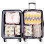6-Piece travel bag, luggage group, 6-Piece travel clothing bag, calico series