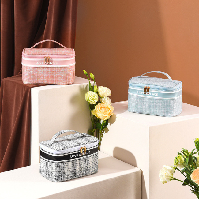 New xiaoxiangfeng series cosmetic bag large capacity portable cosmetic bag cosmetic storage bag cosmetic bag
