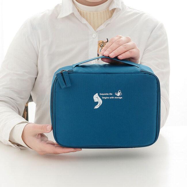 Candy color cosmetic bag, square storage bag, portable storage, washing bag, cosmetics travel storage bag, customized distribution