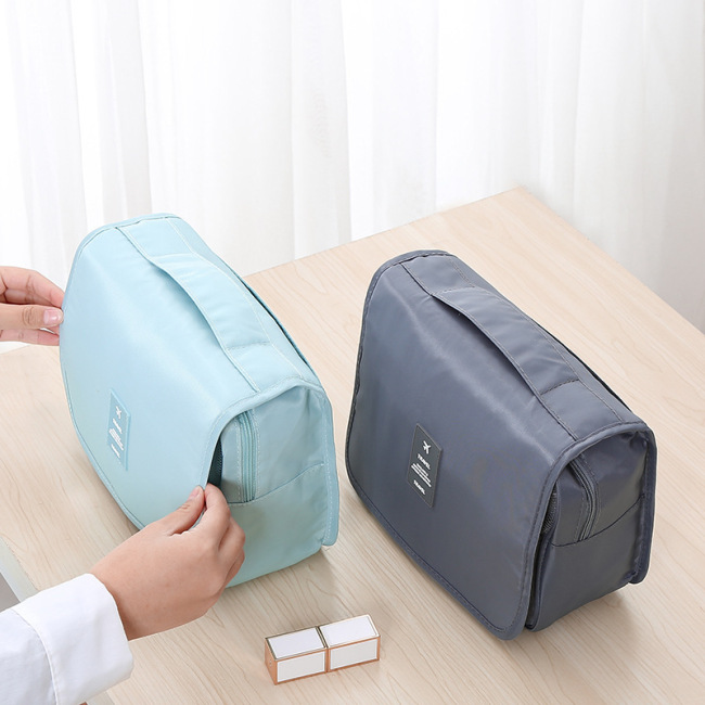 Large capacity Travel Wash Bag men's outdoor anti splashing water cosmetic bag women's portable travel storage bag cosmetic bag
