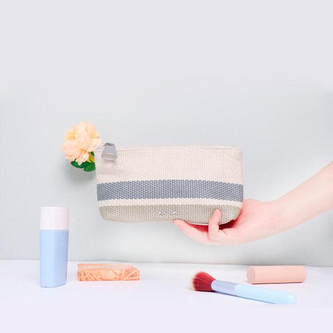 Japan and South Korea fashion women's beauty make-up bag portable cosmetics change storage bag storage bag customization