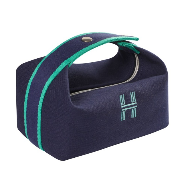 Simple Large Cosmetic Bag portable large capacity storage bag wash skin care bag portable waterproof canvas bag new products