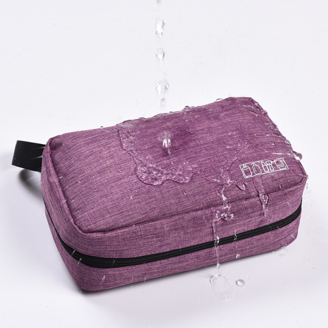 Travel Toiletries bag men's portable toiletries storage bag cosmetic bag hanging cationic waterproof storage bag