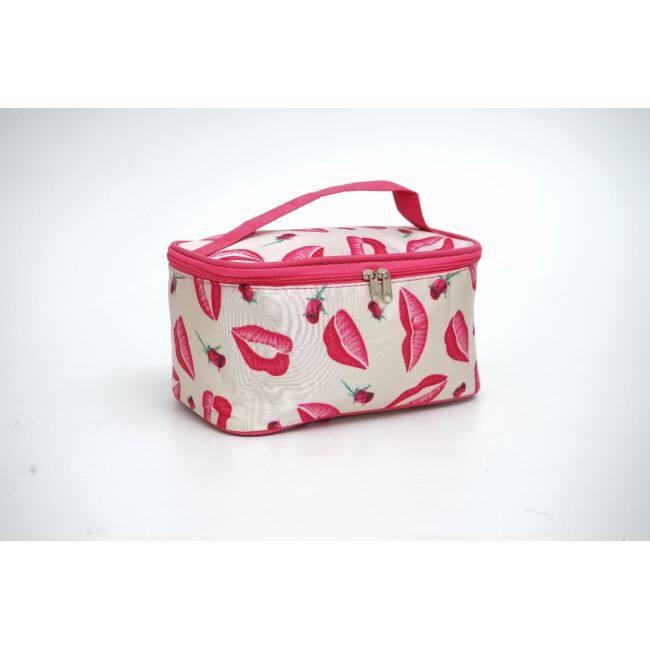 Korean cosmetic bag manufacturers wholesale new portable square bag, large capacity jewelry bag, Travel Wash Bag