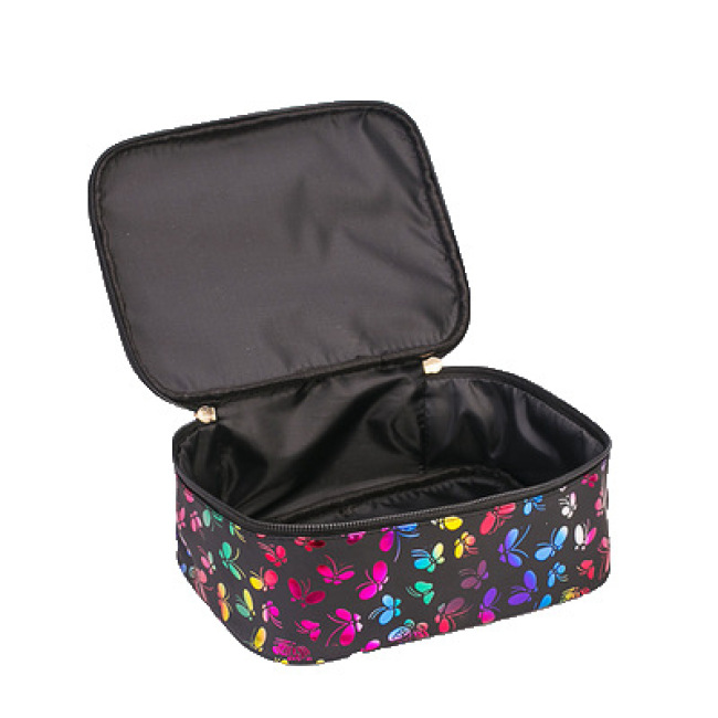 Storage partition handbag multifunctional waterproof large capacity portable travel bag cosmetic case manicurist cosmetic bag