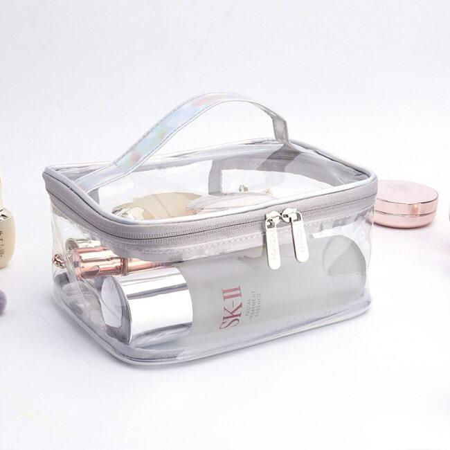 Large Capacity PVC  Transparent  Simple Waterproof Travel Storage Bag