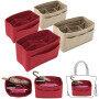 New felt bag middle bag large capacity multi-functional storage cosmetic bag finishing bag Wash Bag Travel Cosmetic Bag