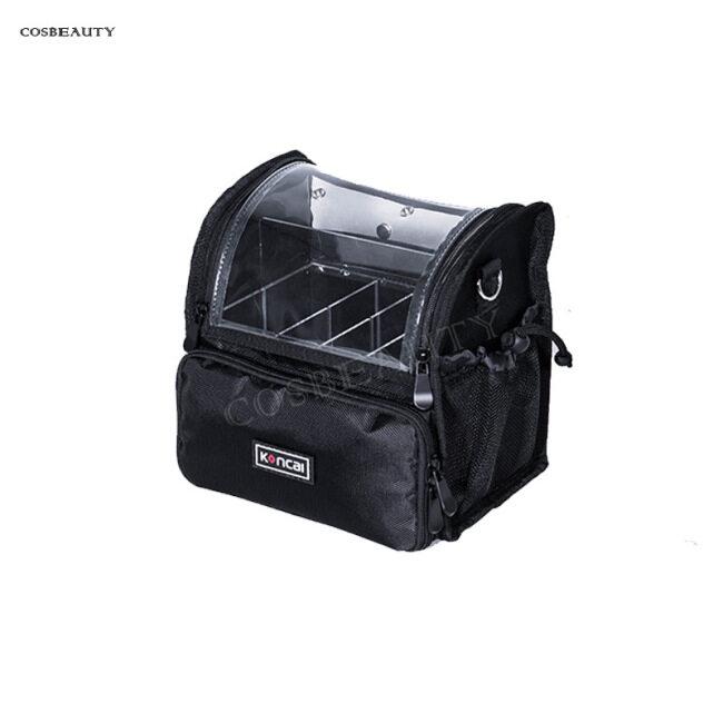 Women's cosmetics outdoor travel slant cross storage bag portable one shoulder multi-functional transparent wash make-up bag customization